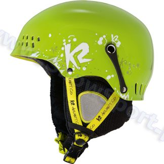 Kask K2 Entity Green 2014  tylko w Narty Sklep Online