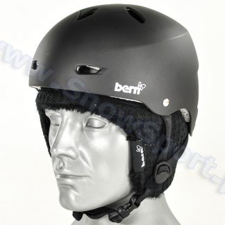 Kask BERN Brighton Hard Hat Matte Black  tylko w Narty Sklep Online