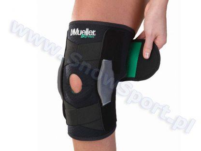 Zawiasowy stabilizator kolana Mueller Green 2012  tylko w Narty Sklep Online