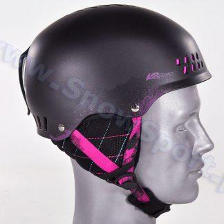 Kask K2 Emphasis Black 2014  tylko w Narty Sklep Online