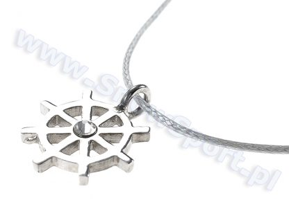 Srebrny naszyjnik SilverSurf Stering Wheel S z kryształem Swarovskiego  tylko w Narty Sklep Online