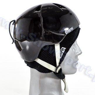 Kask BERN Nino Zip Mold Gloss Black  tylko w Narty Sklep Online