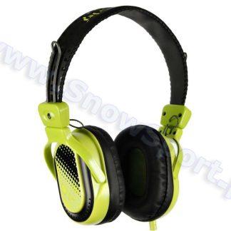 Słuchawki SkullCandy Agent Black/Green S6AGBZ-BG  tylko w Narty Sklep Online