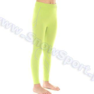 Spodnie Dziewczęce Termoaktywne  BRUBECK KIDS THERMO LIME (LE10780)  tylko w Narty Sklep Online