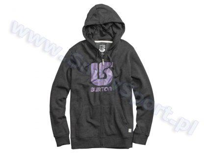 Bluza Burton Logo Vert Heather True Black  tylko w Narty Sklep Online