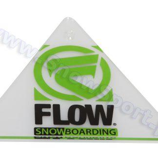 Cyklina snowboardowa plexi Flow Delta Scrapper 2013  tylko w Narty Sklep Online