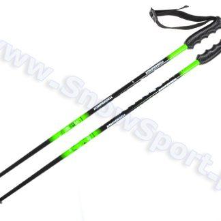 Kijki zjazdowe Junior Komperdell Austria Ski Team Black/Green  tylko w Narty Sklep Online