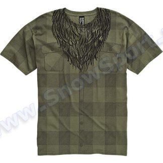Koszulka Burton Lumberjack Military Green 2012  tylko w Narty Sklep Online