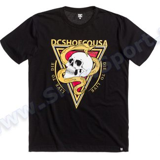 Koszulka DC SNAKEHEAD SS Black KVK0  tylko w Narty Sklep Online