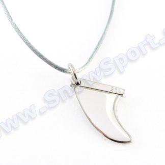 Srebrny naszyjnik SilverSurf Fin S Silver  tylko w Narty Sklep Online